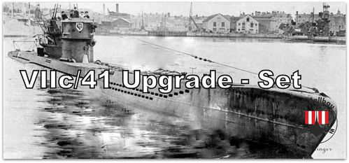 Angebot-Set: VIIc41 Upgrade-Set Robbe U47