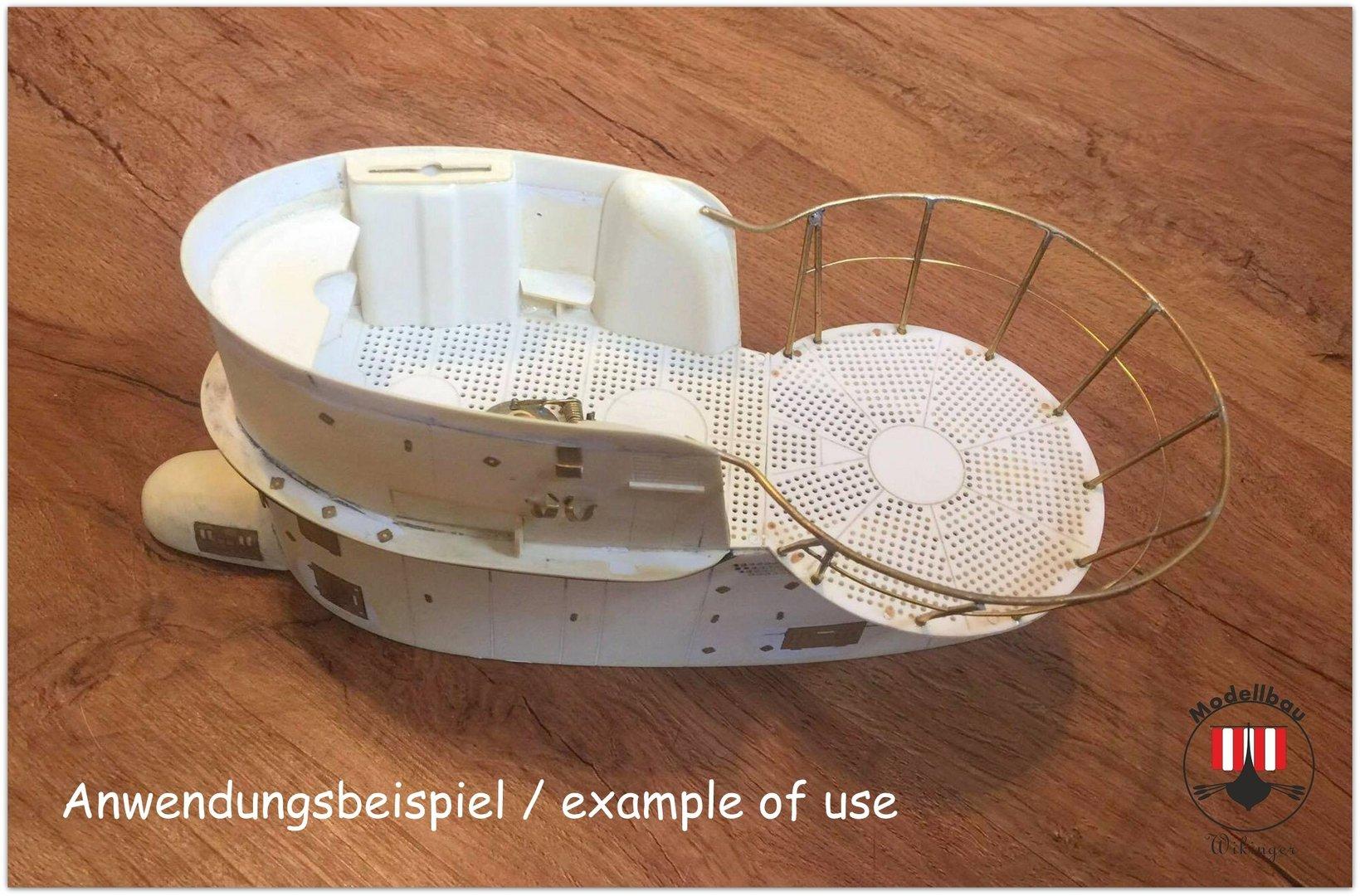 bausatz wintergarten viic fr h passend f r robbe u47. Black Bedroom Furniture Sets. Home Design Ideas